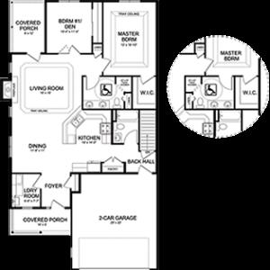 Senior independent living homes, floor plan; Elkhart Lake WI