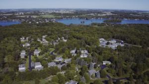 overview image of Cedar Lake Village - senior living in West Bend, Wisconsin