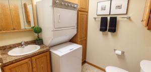 laundry for Cedar Community's West Bend senior apartments