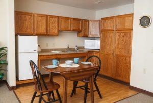 kitchen photo, Elkhart Lake assisted living apartment