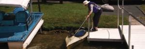 Kayaking at Cedar Community independent living in West Bend