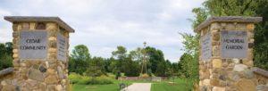 Cedar Community memorial garden