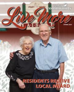 Spring 2020 Live More magazine, Cedar Community