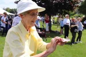 West Bend Cedar Community butterfly release